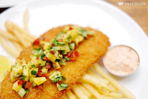 Mojo Fish & Chips IDR 90k