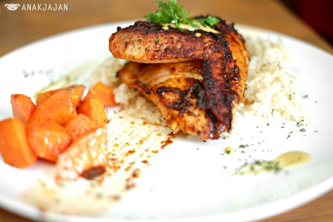 Chipotle Glazed Herb Chicken IDR 65k