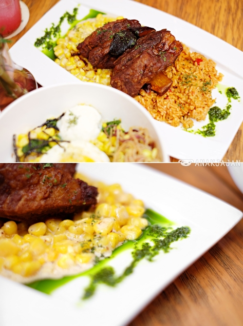 Chipotle-Pears Braised Short Ribs IDR 109k