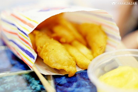 B.F.F (Battered Fish and Fries) IDR 36k