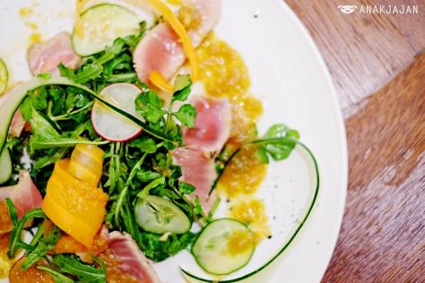 Tuna Salad with Japanese Radish Sauce IDR 65k