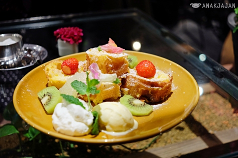 Flower French Toast 918 Yen