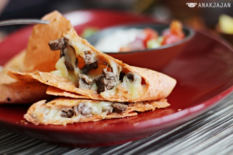 Steak Grilled Quesadillas