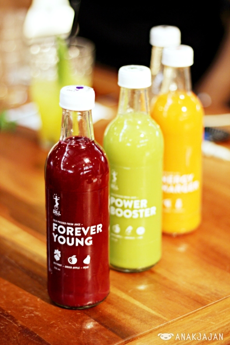 Bottles Cold Pressed Juices IDR 35k