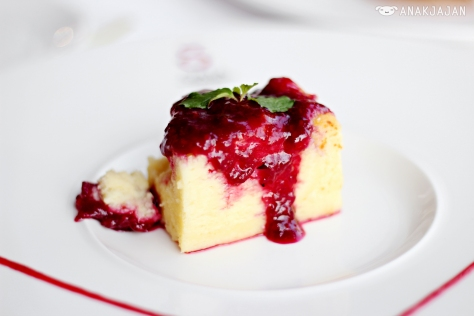 Ricotta Cheeese Cake with Mixed Berries