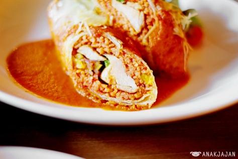Chicken Enchiladas Gringas IDR 69k
