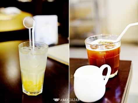 Yu Cha Cha IDR 30k, Ice Cofffee