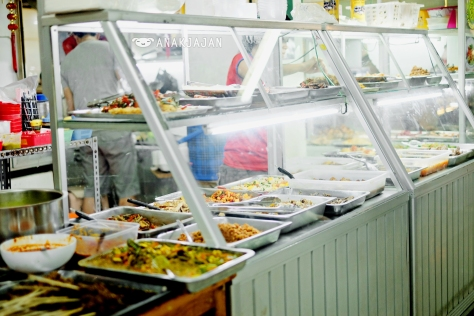 Pasar Ramai Medan Vegetarian Food