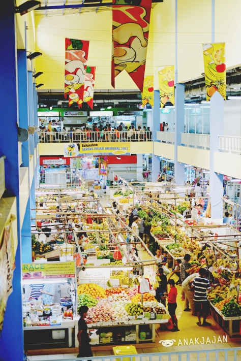 Fresh Market PIK - fruits and vegetables area
