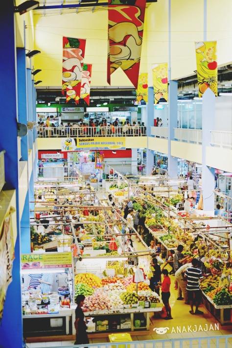 Fresh Market PIK - fruits and vegetables area