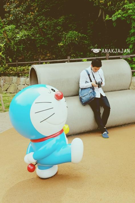 Doraemon and Mr. Jajan