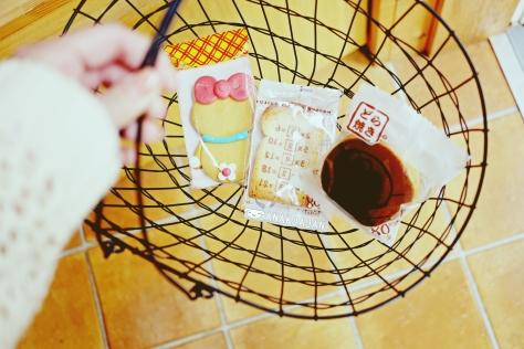 Dorami cookie, ankipan and dorayaki