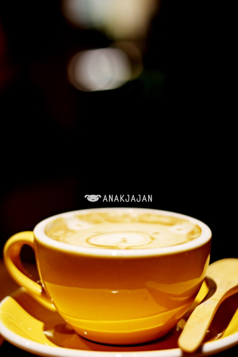 Cappuccino IDR 27k + Bonsoy IDR 10k