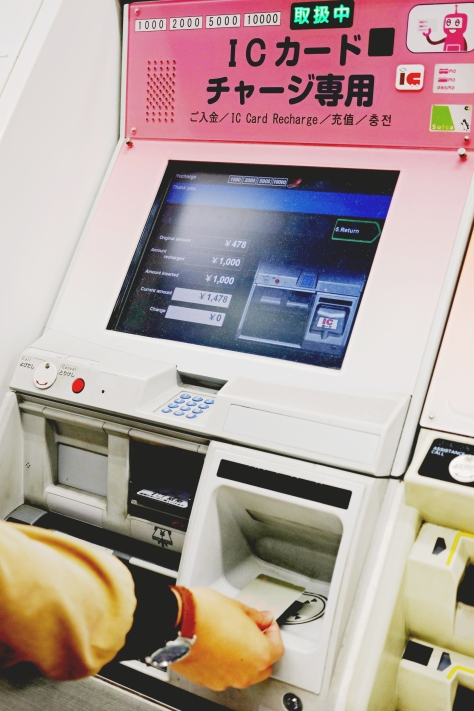 Fare adjusment machine