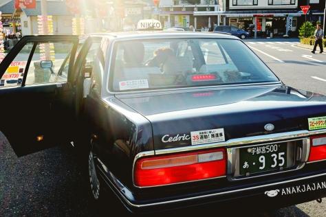 Taxi at Japan