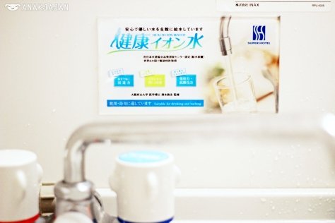 Healthy Ion Tap Water, suitable for drinking