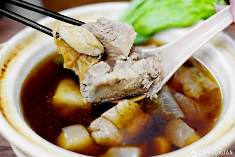 Bakut Teh Kuah (soup bak kut teh) IDR 50k