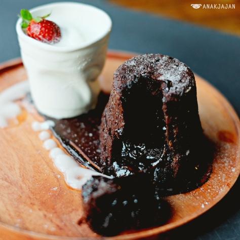 Lava Chocolate Cake IDR 38k