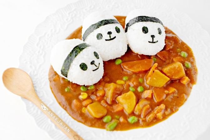 [RECIPE] Panda Japanese Curry Rice