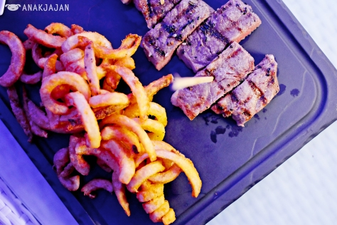 Meat and Chips IDR 198k