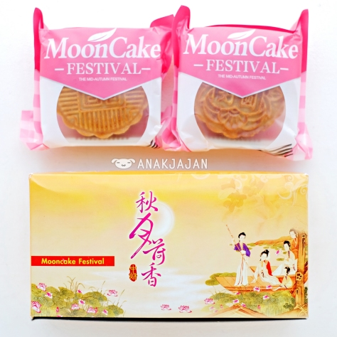 Baked Mooncake isi 2 pcs