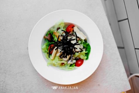 Japanese Mushroom Salad IDR 30k