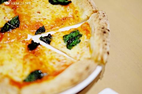 Pizza Margherita IDR 50k