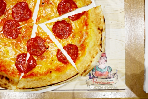 Beef Pepperoni Pizza IDR 60k
