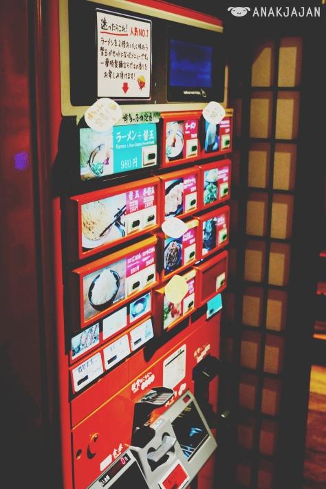 Meal Ticket Vending Machine