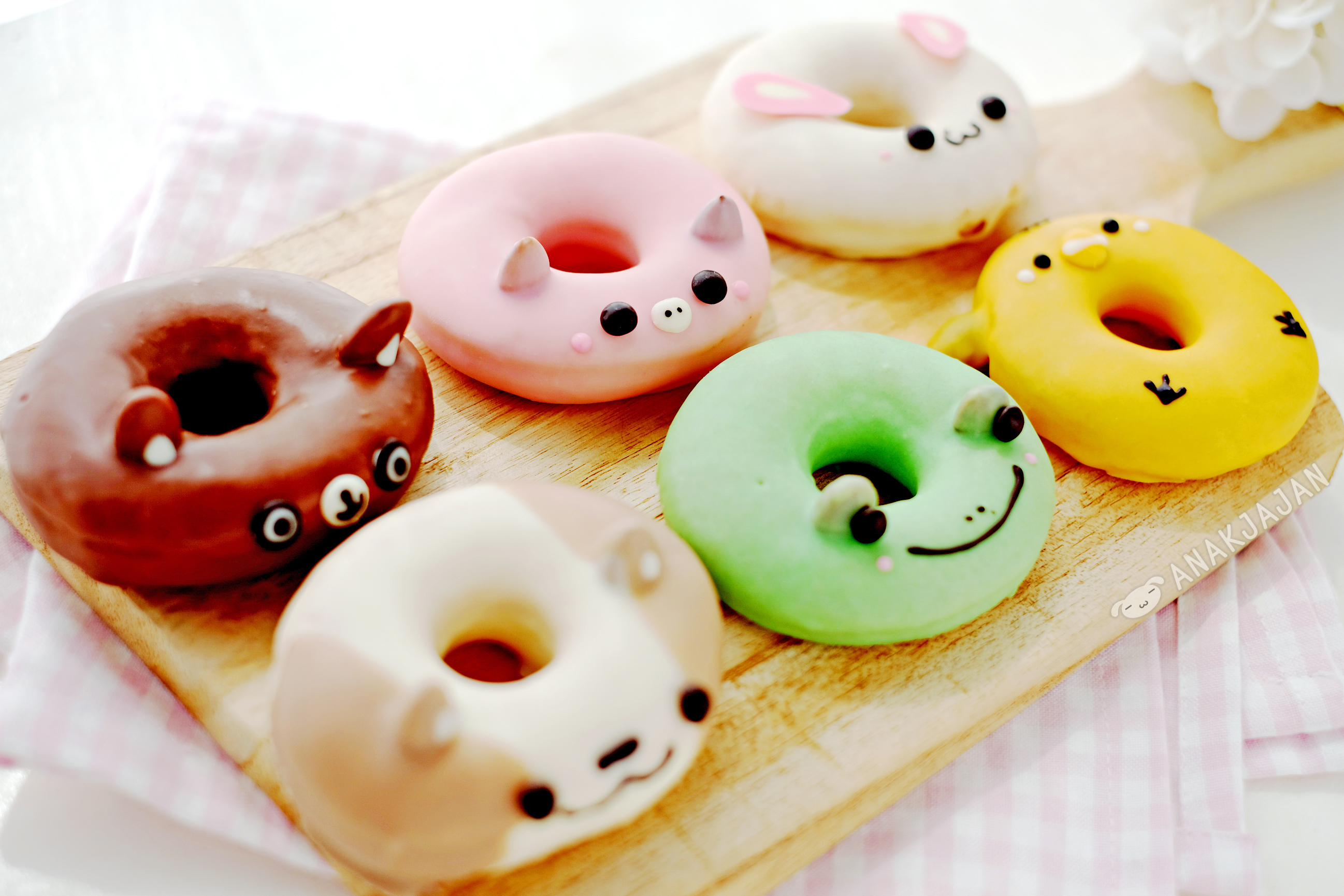 of wallpaper donut