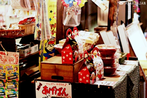 Old-fashioned sweet shop