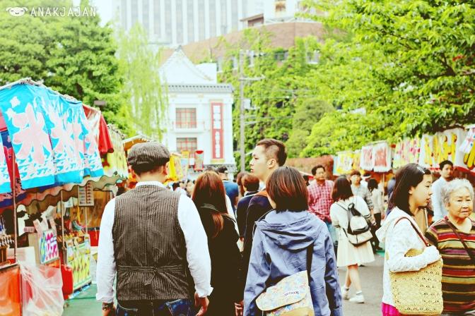 Market at Ueno