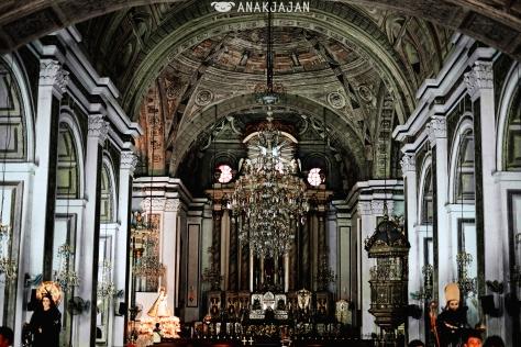 Magnificent details inside St. Agustin Church