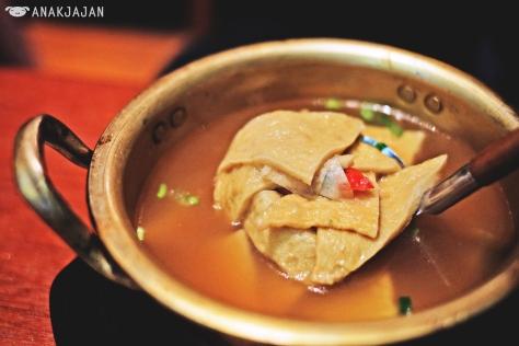 Seafood Cake Soup IDR 28k