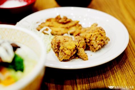 + IDR 16.3k Chicken Karaage, Miso Soup, Drink