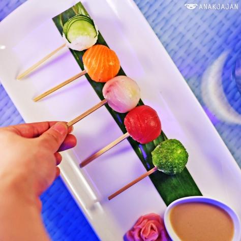 Sushi Bubbles IDR 120k