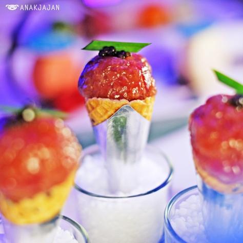 Miso Tuna Tartar IDR 110k