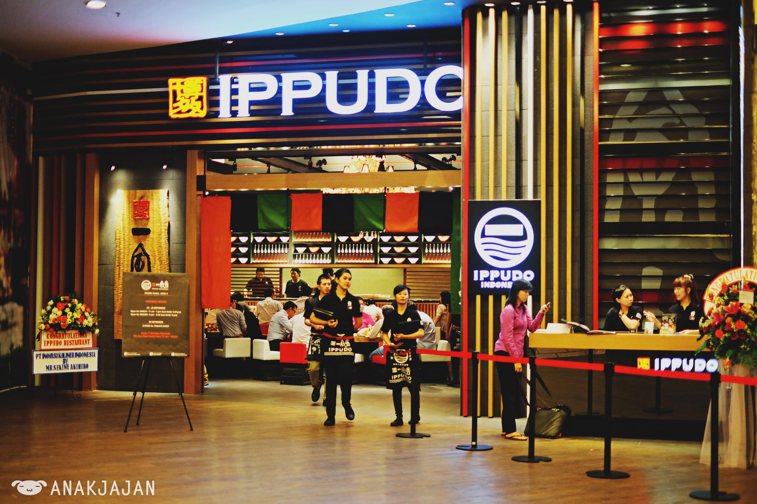 IPPUDO Ramen Jakarta Indonesia Pacific Place | ANAKJAJAN.COM
