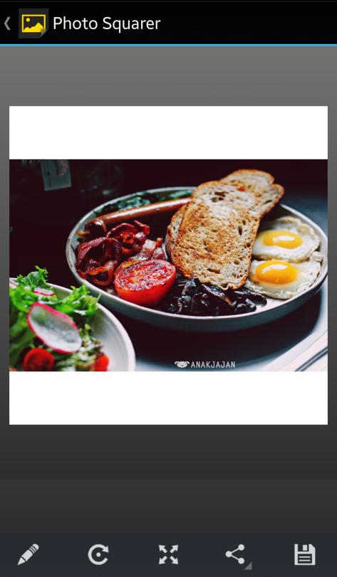 Photo Squarer App