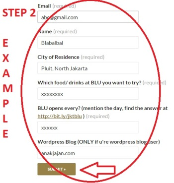 STEP2. Submit form