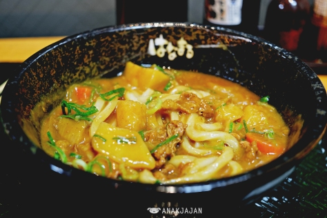 Curry Udon JPY 500