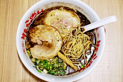 Black Garlic Ramen IDR 55k