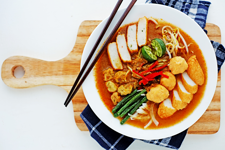 malaysia singapore laksa recipe | ANAKJAJAN.COM