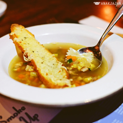 Chicken Noodle Soup IDR 90k