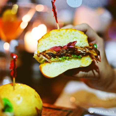 Pulled Pork Sliders IDR 115k