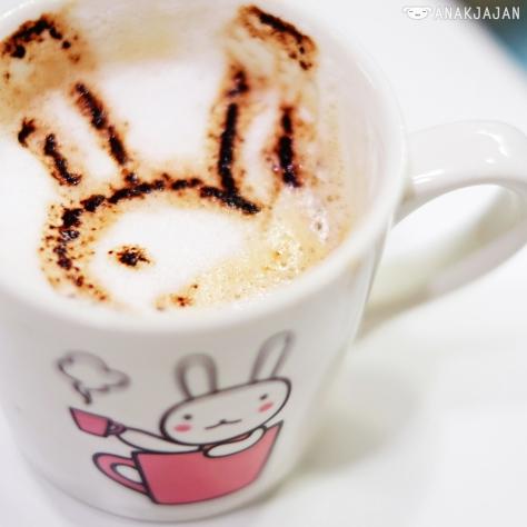 Shiro Usa's Raspberry Coffee (Hot) IDR 38k