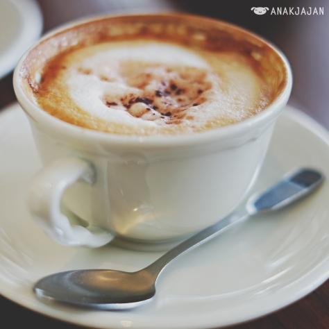 Cappuccino IDR 45k