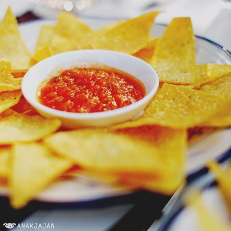 Chip & Salsa IDR 30k