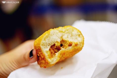 Spicy Chicken Fried Bread IDR 5k