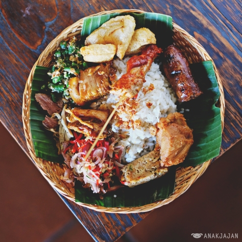 Balinese Pork Rice IDR 79k